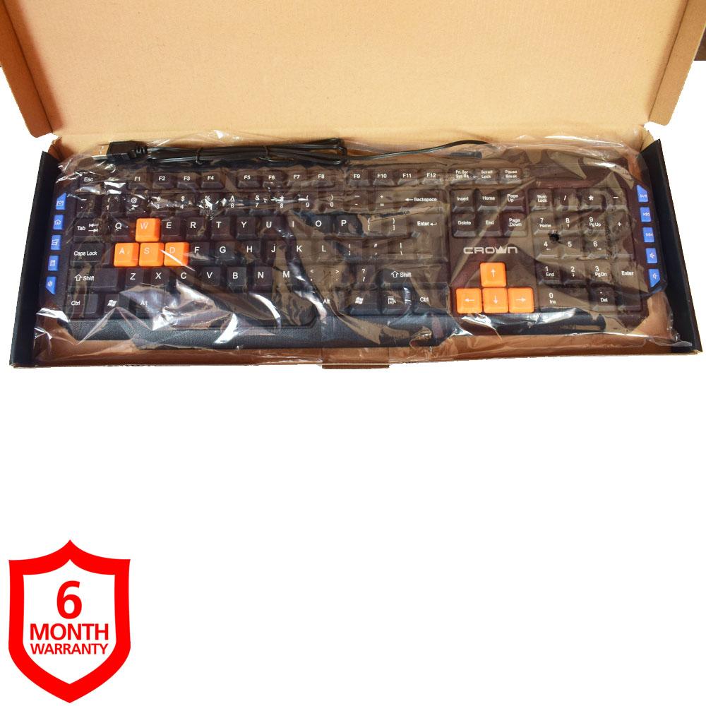 CROWN Wired Keyboard CMK-22