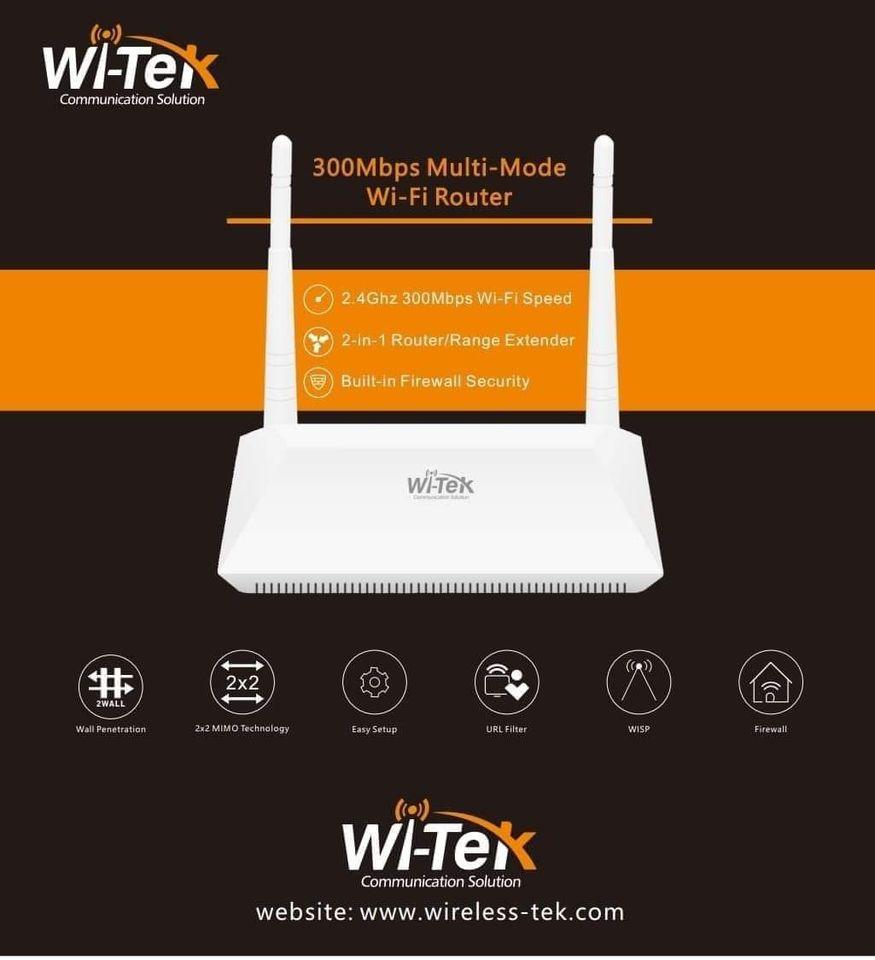 WI-Tek Communication Solution WI-WR301